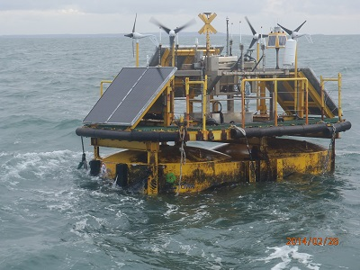 Data Buoy - Offshore Windfarm