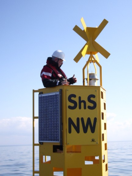 Navigation Buoy - Offshore Windfarm